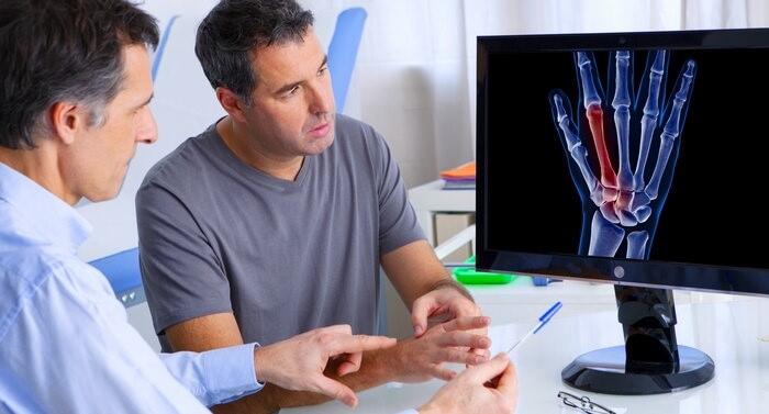 Признаки остеоартроза пальцев рук