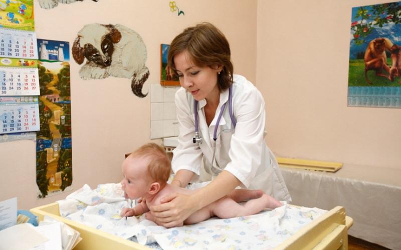 На приёме у детского врача