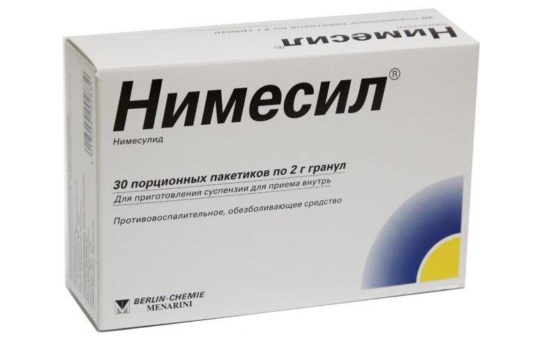 нимесил при лечении простатита