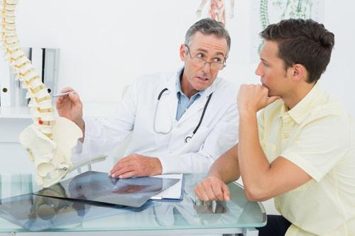 Гемангиома позвоночника - лечение