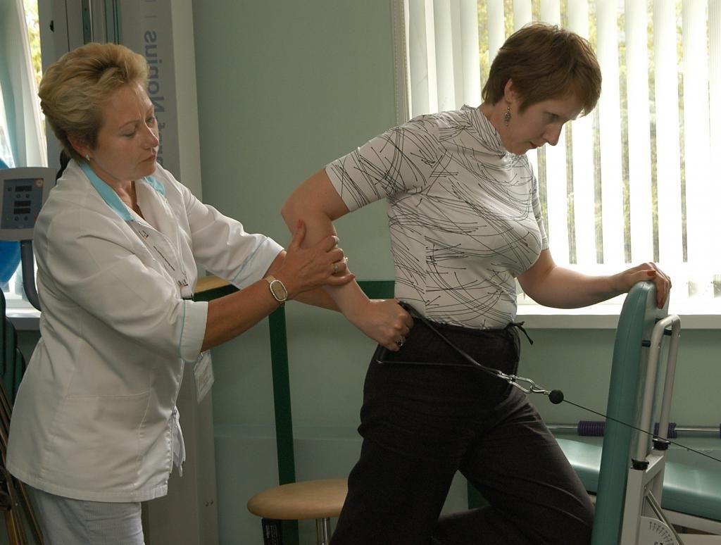 Упражнения Попова при плечелопаточном периартрите