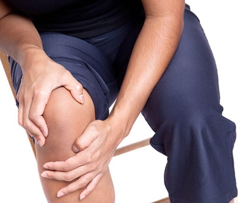 Отложение солей в области коленного сустава