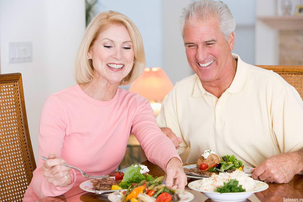 Питание пожилых женщин при остеопорозе