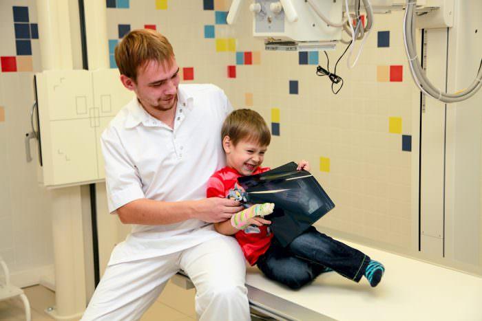 Рентгенография ребенка