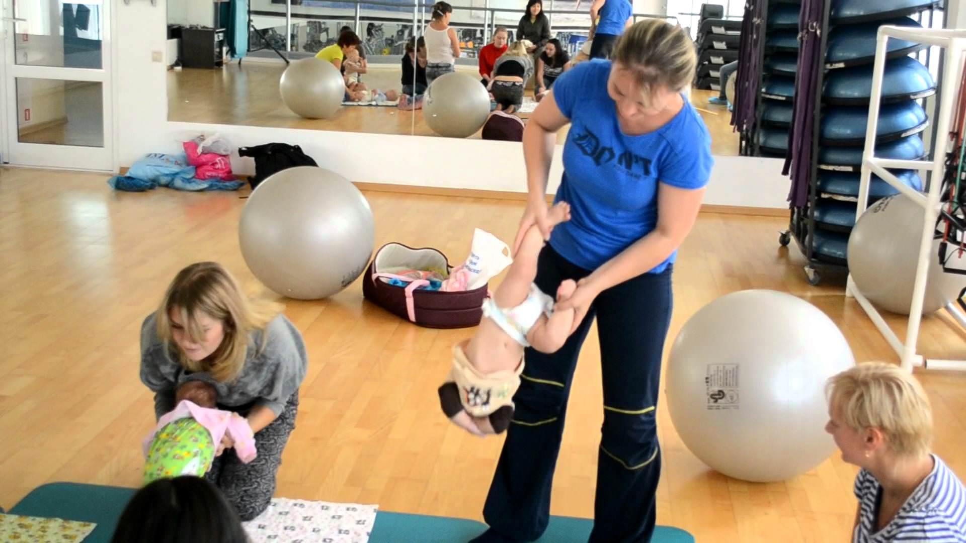 Гимнастика с маленькими детьми