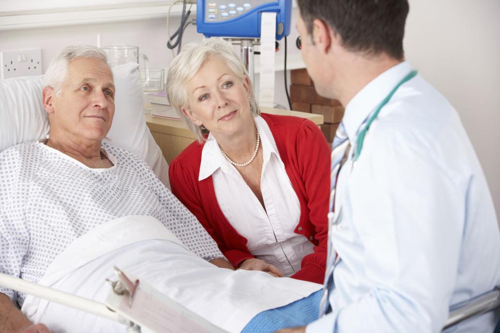 Разговор врача и пациента