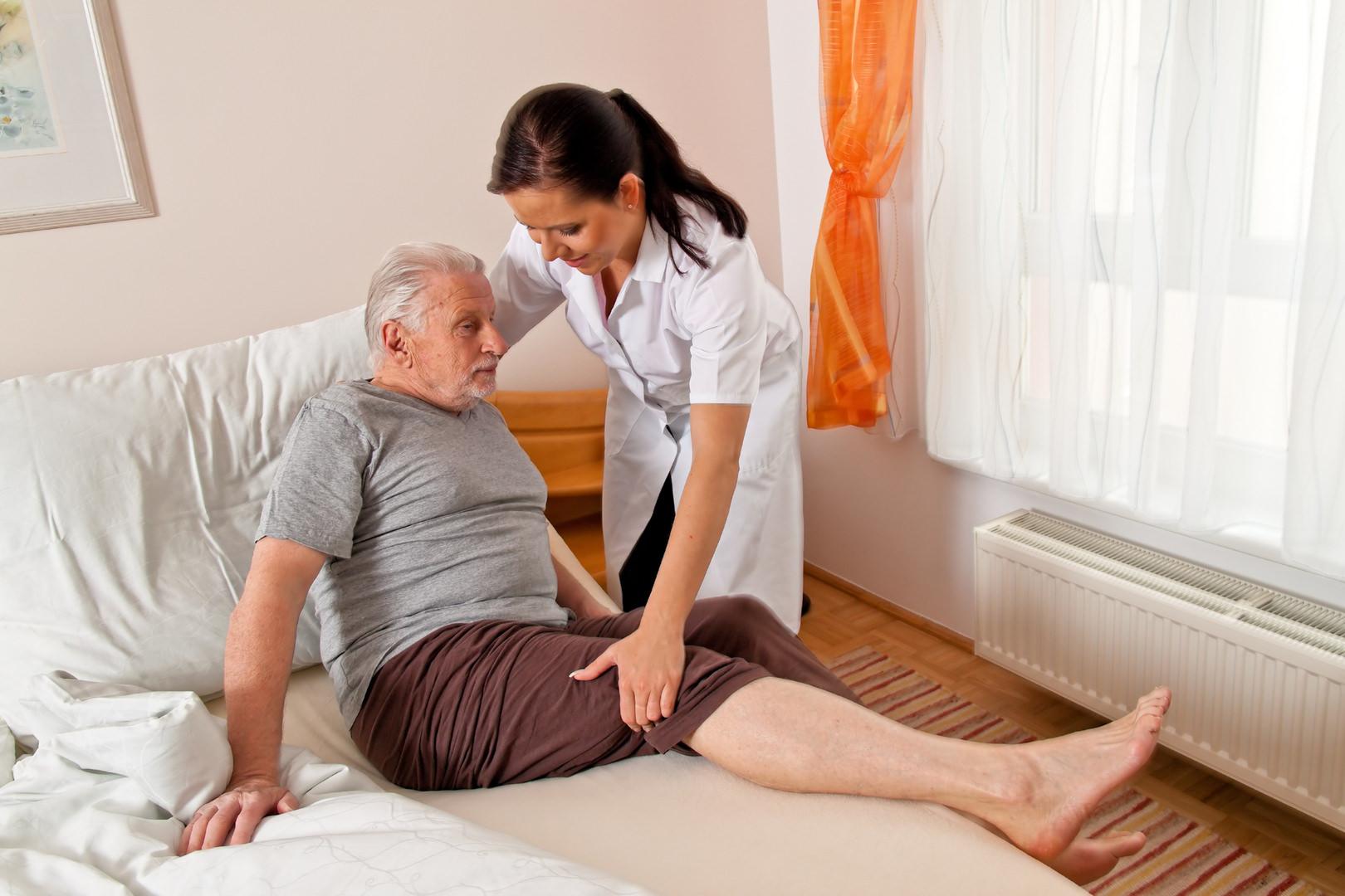 Медсестра и пациент