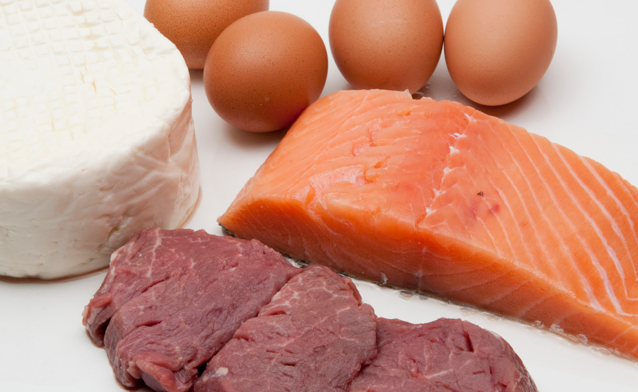 Мясо и красная рыба