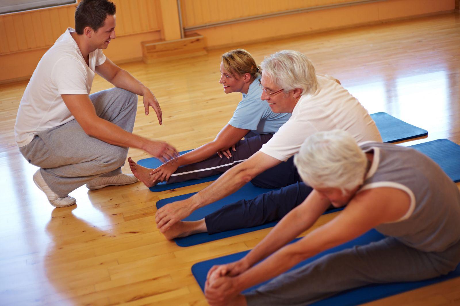 Физические упражнения с лечебной целью