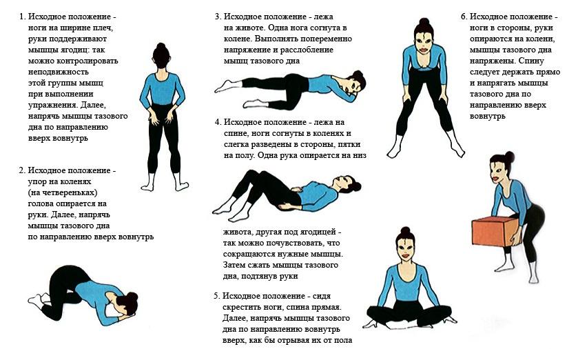 Упражнение для малого таза 20