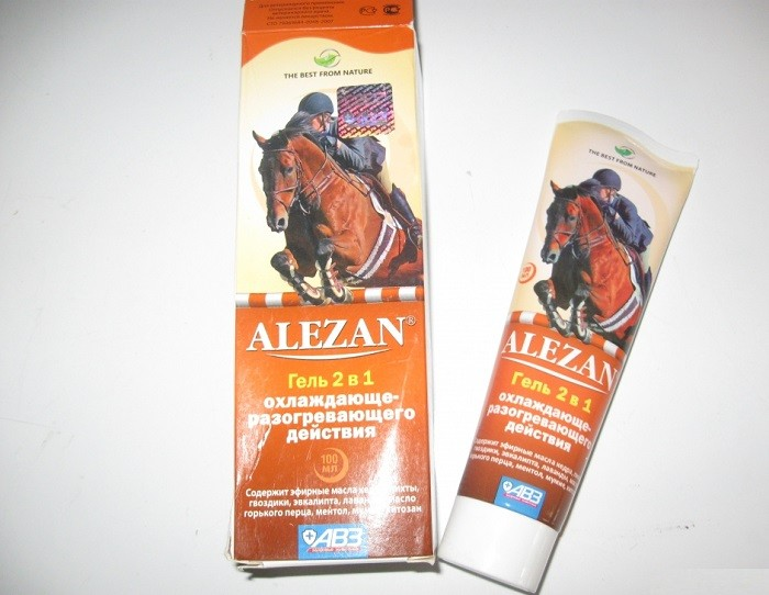 Крем и гель «Алезан»
